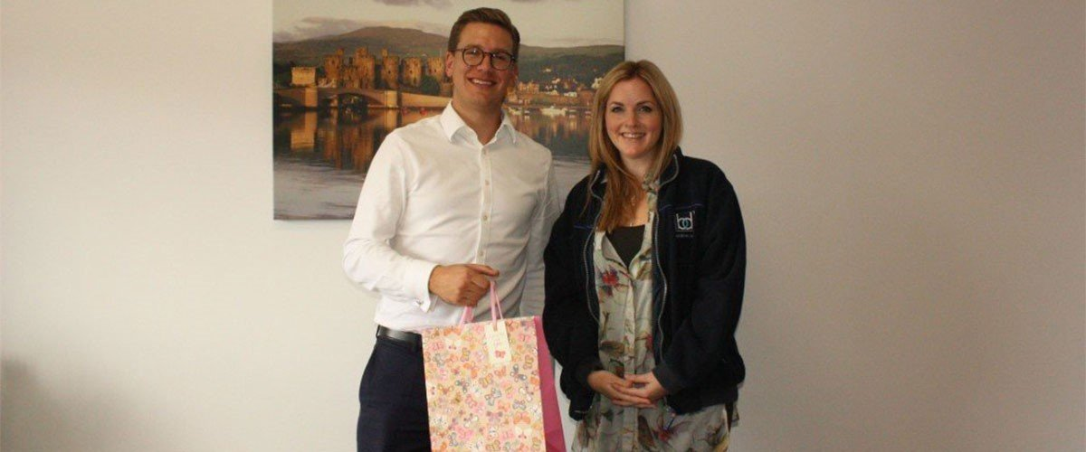 Meeting Our Birthday Competition Winner - Nichola